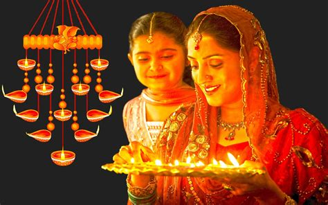 happy diwali celebration indian woman culture  tradition greeting card