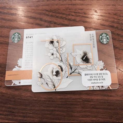 Starbucks Card Wave Korea starbucks card from korea airfrov get travellers to bring back overseas products