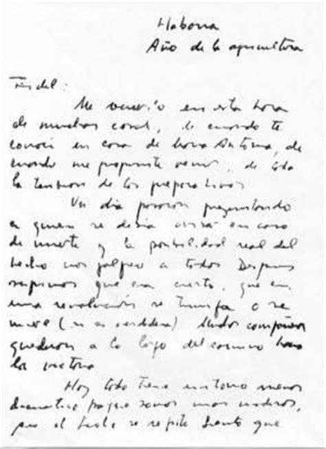 lettre d'adieu à Fidel Castro..
