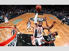 LeBron James throws down huge poster dunk over Nets (VIDEO ... King Of Kings Logo Wallpaper