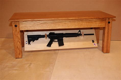 Nj Concealment Furniture by Concealed Rifle Storage In Coffee Table Ar15