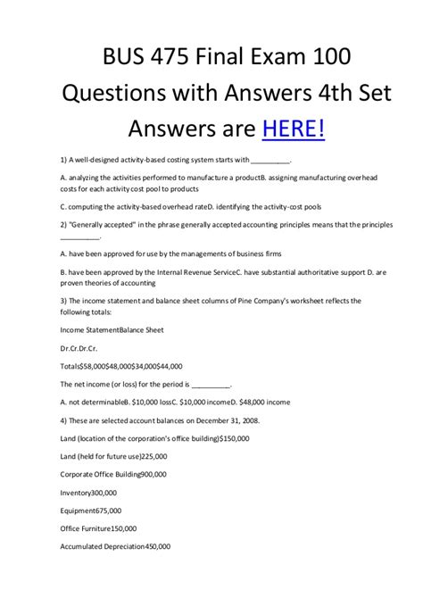 examination preparation questions pdf book