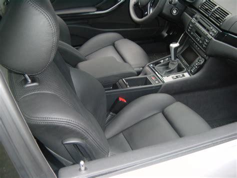 Lederpflege Autositze Cabrio by Bmw E 46 Coupe Mit Lederinterieur Jaggi Autosattlerei