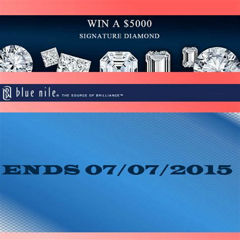 Blue Nile Sweepstakes - blue nile 5 000 signature diamond wedding sweepstakes 2015