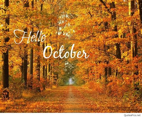 awesome  october sayings pictures