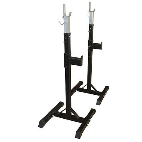 bench in squat rack squat rack stand pair bench press weight lifting barbell