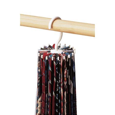 twirl a tie spinning mens tie hanger rack holder closet