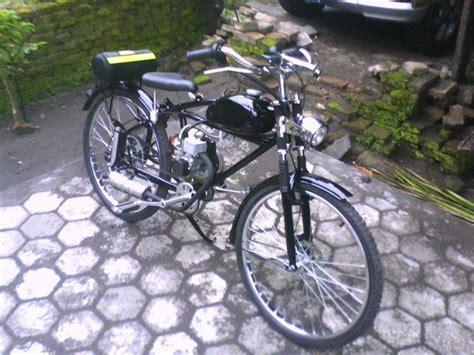 Sepeda Dengan Mesin Potong Rumput sepeda mesin potong rumput