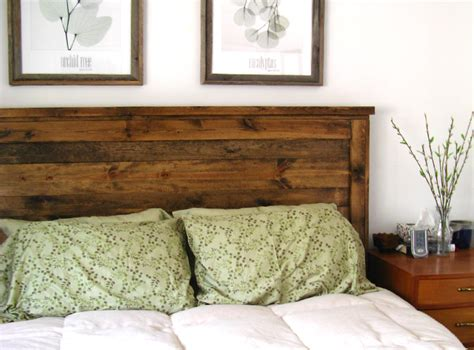 15 ideas and secrets for diy wooden headboards look