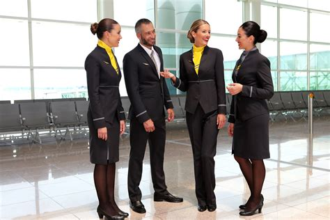 vueling cabin crew vuelings bright new uniforms take thedesignair