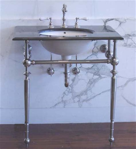 Console Vanity Sink by Vintage Bath Console Sinks