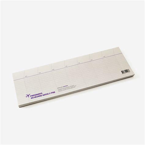 Murah Keyboard Weekly Pad Note Pad 183 rikiki grafik produkt 183 keyboard weekly notepad