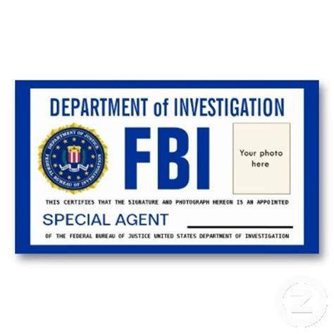 fbi badge template id cards templates template fbi badge sep 17
