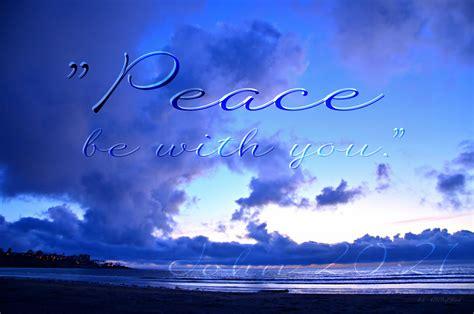 peace    jesus   stood