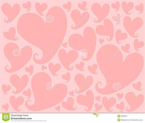Amoree Dusty Pink configuration clair de fond de coeurs de