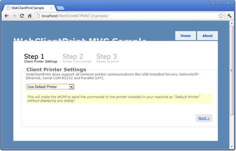 magazine management website an asp net mvc 4 sle download webclientprint for asp net mvc webforms 4 0