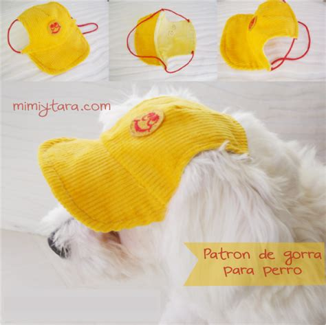mimi y tara patrones de ropa para perros patrones de gorra para perro mimi y tara