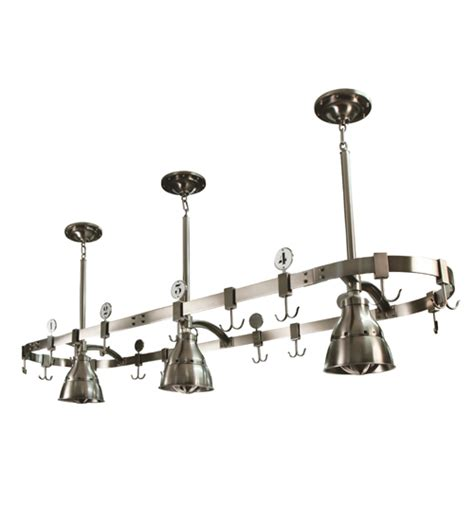 Pot Racks With Lights by Archaeology Pot Rack W 3 Studio Lights