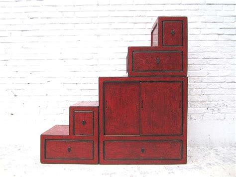 kommode viele kleine schubladen china kleine treppen kommode rotbraun viele schubladen