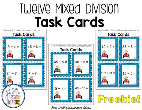 Can You Use A Smith S Gift Card For Gas - can you use some free mixed division task cards and recording sheets for your math