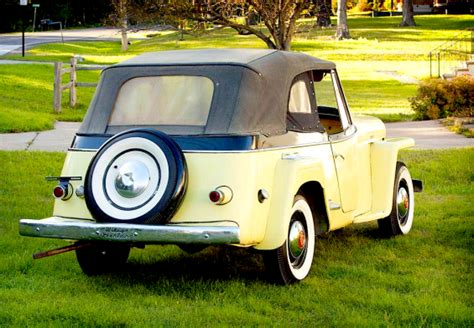 49 Willys Jeep For The Gis 49 Willys Jeepster Phaeton Mint2me