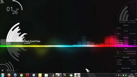 Visualizer Music circular eq samurize para winamp youtube
