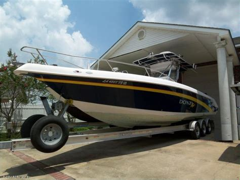 donzi boat second hand donzi 32 zf center console open in florida power boats