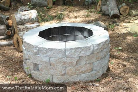 diy pit on a budget 15 diy outdoor fireplace ideas to combat the winter chill