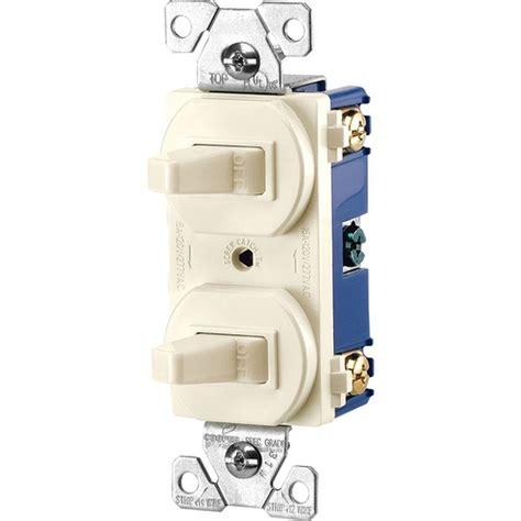 two pole light switch eaton commercial grade 15 single pole 2 toggle
