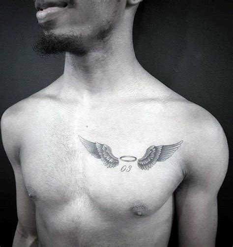 small breast tattoos 40 small chest tattoos for manly ink design ideas