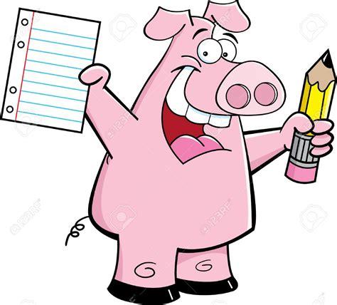 pig writing paper paper pig writing paper
