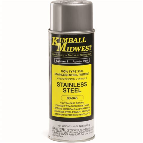 spray paint for steel stainless steel paint kimball midwest