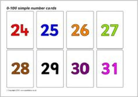 sparklebox printable number cards 1000 images about sparkle box maths number on