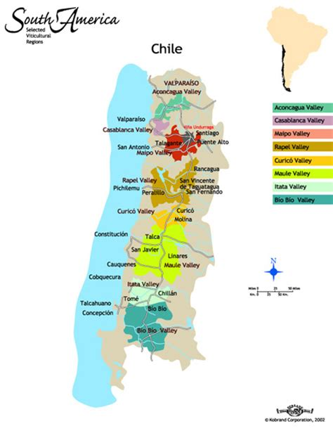chile regions map chilean wine regions galapagos