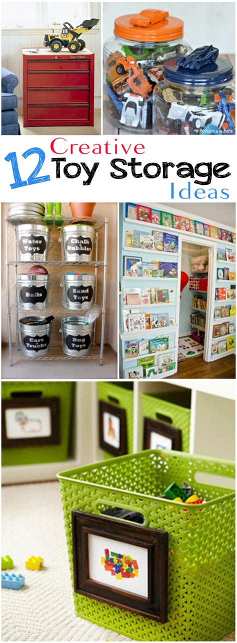 kids toy storage ideas 12 creative toy storage ideas veryhom