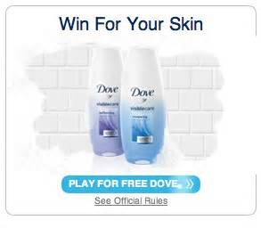 Your Skin And Win by Dove Win For Your Skin