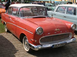 Opel Rekord P1 Opel Rekord P1 Bildersammlung Christof Rezbach