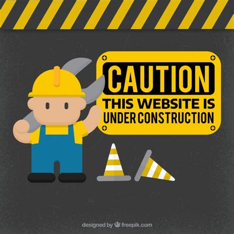 underconstruction template construction template vector free