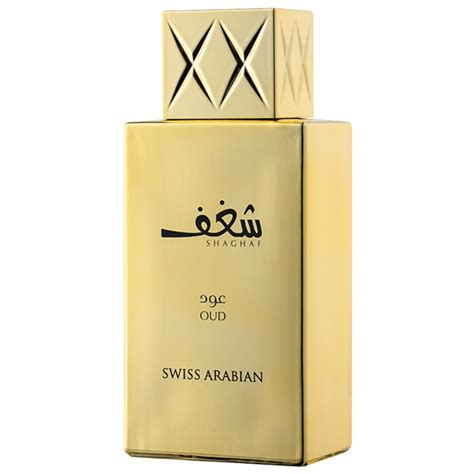 swiss arabian shaghaf oud eau de parfum for 75 ml
