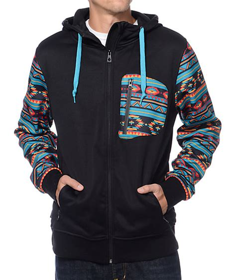 Jaket Sweater Hoodie Zipper 2 King Clothing Exlusiv empyre the riot black print tech fleece hooded