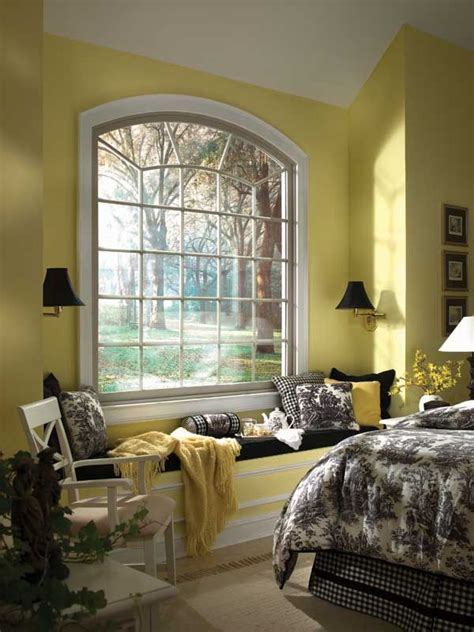 Bedroom Windows | beautiful bedroom window seat there s no place like home