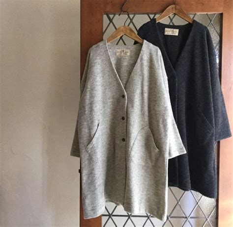 Moca Coat nest robe jiyugaoka on moca coats and gray