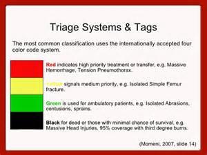 triage colors responder