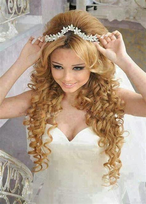 hairstyles for sweet 15 15 best collection of curly quinceanera hairstyles