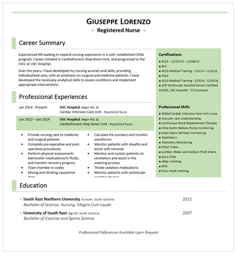 free resume examples by industry job title livecareer