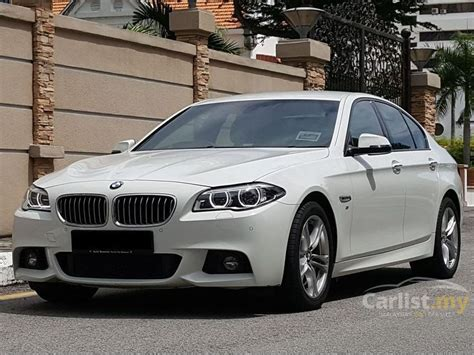 bmw 528i m sport bmw 528i 2014 m sport 2 0 in penang automatic sedan white