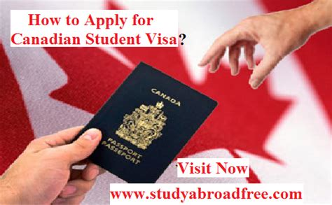 student visa requirements for study in canada canadian student visa checkliststudy in canada for free