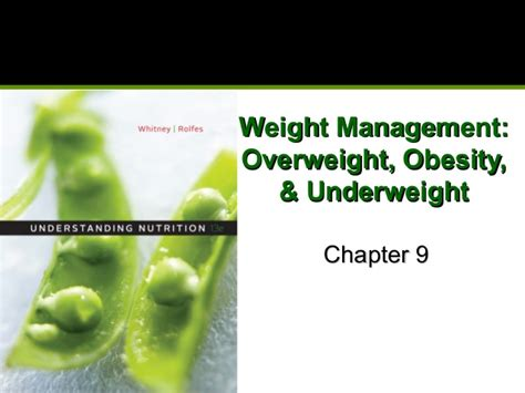 nutrition chapter 9 weight management chapter9