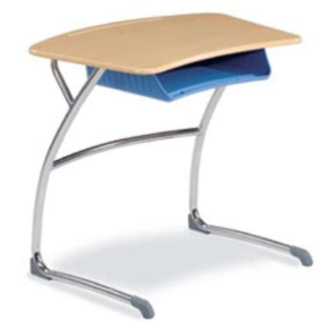 virco student desks virco zdesk29boxm zuma cantilever student desk w bookbox