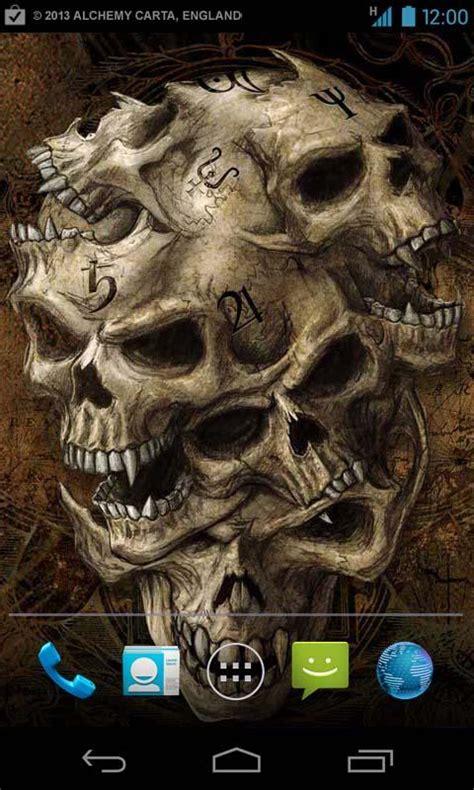 wallpaper hd android skull craneos en llamas hd imagui